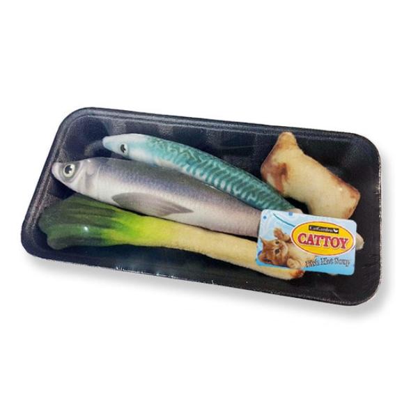 캣가든 캣닢 생선매운탕 참치 꽁치 인형