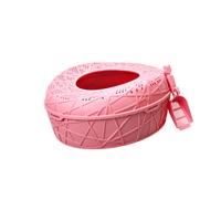 코지스 고양이 탑엔트리 화장실 핑크