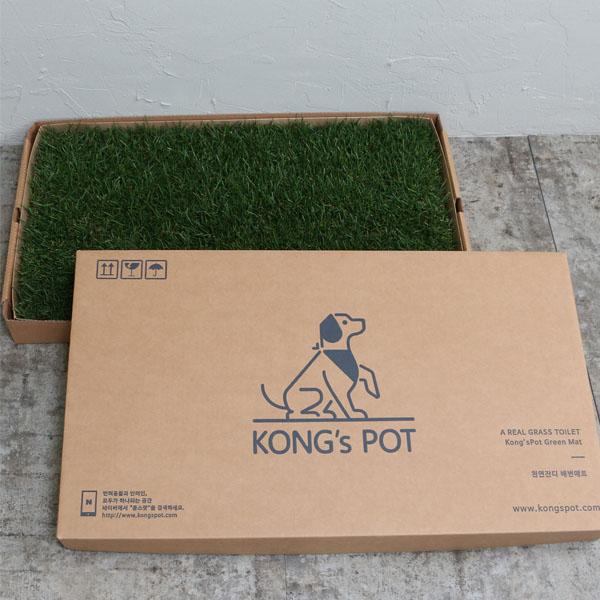 콩스팟 반려동물 실내잔디배변판 중형(39x64cm) - 프레시