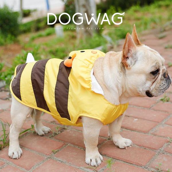 도그웨그 꿀벌 강아지 우비