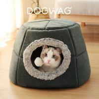 도그웨그 동굴 고양이 숨숨집 겨울 하우스 2종