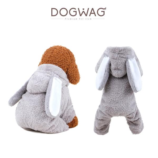 도그웨그 동물 코스튬 올인원 강아지 수트
