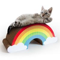 [썩유케이] 레인보우 고양이 장난감 캣 스크래쳐
