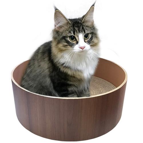 띵가띵가 고양이 스크래쳐 (빅사이즈/브라운)