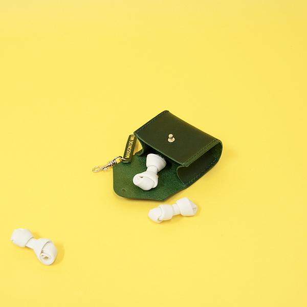 Solid Poop Bag M ver.2 Deep Green