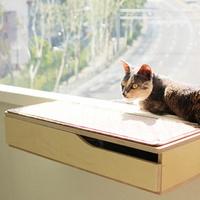 뽀떼_냥반600_수납형_캣타워 윈도우캣타워 고양이