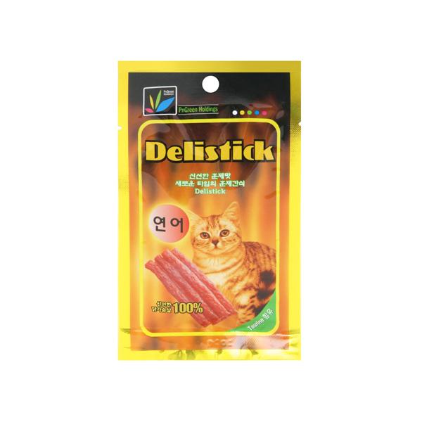 델리스틱 고양이간식 연어