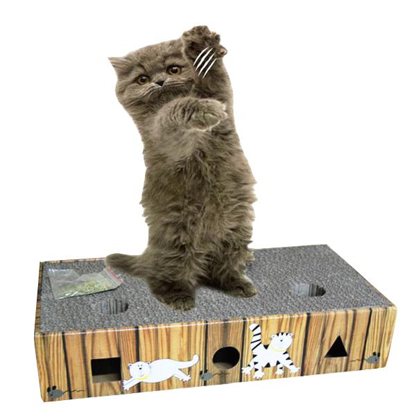 고양이장난감 방울 스크래쳐