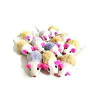 고양이장난감 봉제 벌크 쥐 1P