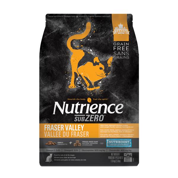 고양이사료 뉴트리언스 서브제로 프레이저 밸리 캣 1.13kg