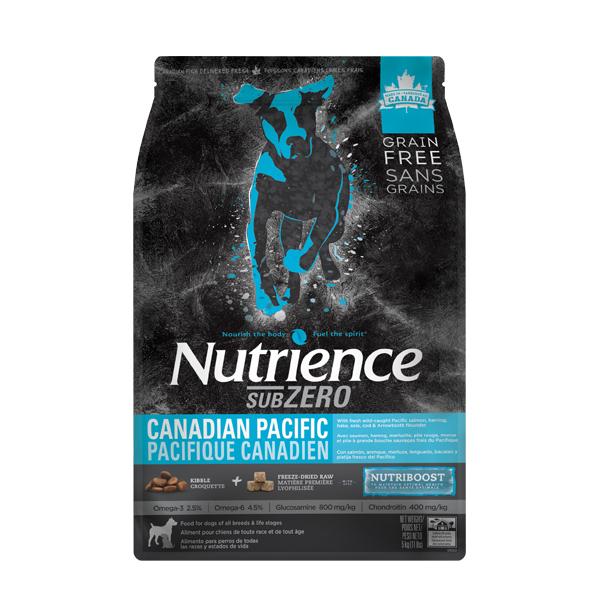 (유통기한20.02.09)강아지사료 뉴트리언스 서브제로 캐네디언 퍼시픽 도그 5kg