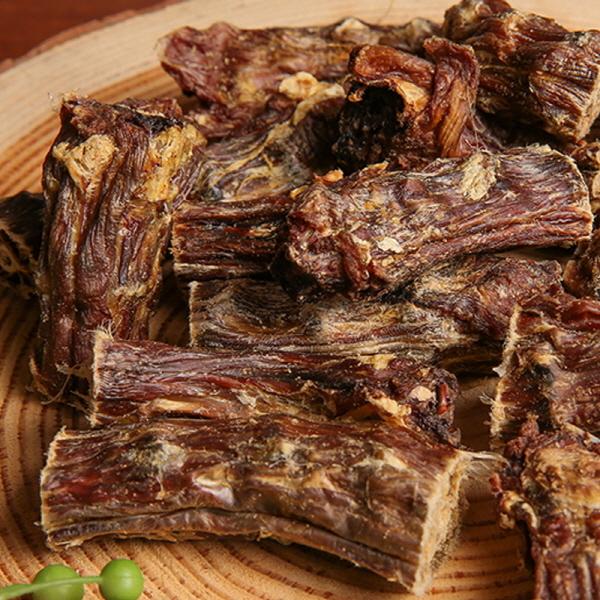 (국산 수제간식) 오리 목뼈 50g