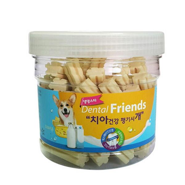 댕댕스타 덴탈프렌즈 300g - 밀크 치즈