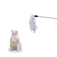우쭈쭈 샤이닝 고양이 장난감 낚시대 뽀글이