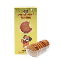 강아지 전용 도그씨 바이츠 바나나 요거트 쿠키 75g