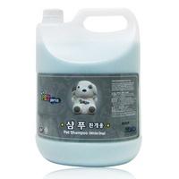 펫프레스 강아지 백모용 대용량 샴푸 린스 4L