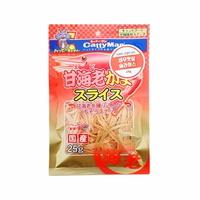 캐티맨 고양이 간식 새우맛살 슬라이스 25g