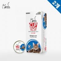 미요미 컵밥 고양이 간식 닭가슴살 도미 12개