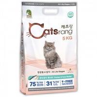 캐츠랑 고양이 전연령용 사료 5kg 2개