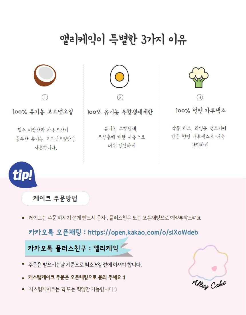 강아지 수제케익 핑구 - 앨리케익, 30,000원, 간식/영양제, 수제간식