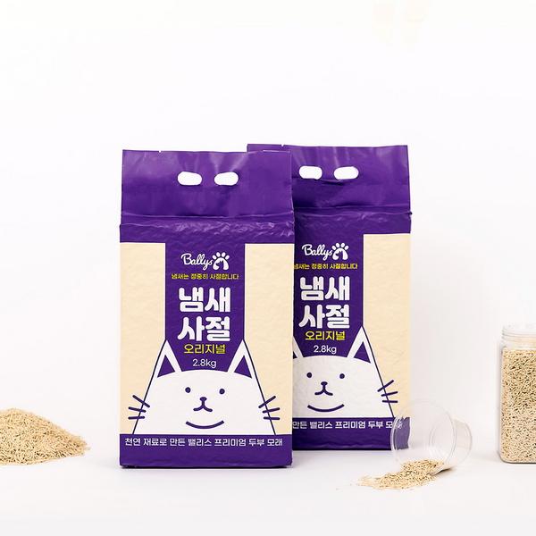 밸리스 냄새사절 2.8kg (3개) - 고양이 두부모래