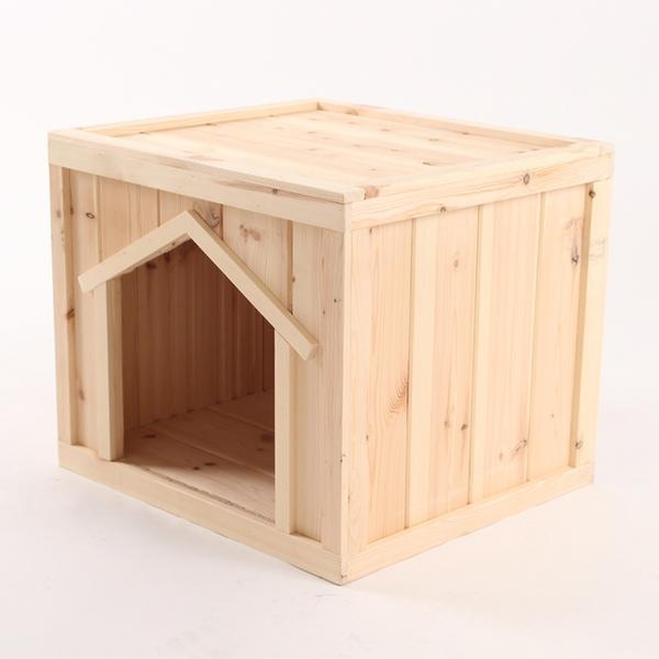 원목 강아지집 박스타입 C 중형 (실외용)