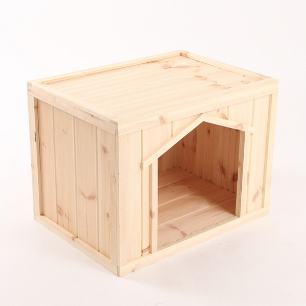 원목 강아지집 박스타입 C 대형 (실내용)