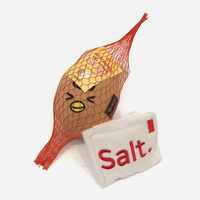 딩독 계란과 소금 SET - 삑삑 딸랑 바스락 장난감