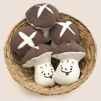 딩독 강아지 장난감 삑삑이 노즈워크 버섯 인형