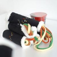 딩독 강아지 장난감 바스랑 노즈워크 김밥 인형