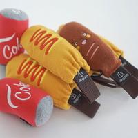 딩독 강아지 장난감 터그 놀이 핫도그 인형
