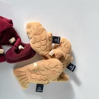 딩독 강아지 장난감 팥앙금 붕어빵 인형