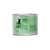 캣츠파인푸드 고양이 캔 NO.15 닭고기와 꿩고기 200g