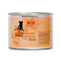 캣츠파인푸드 고양이 캔 NO.25 닭고기와 참치 200g
