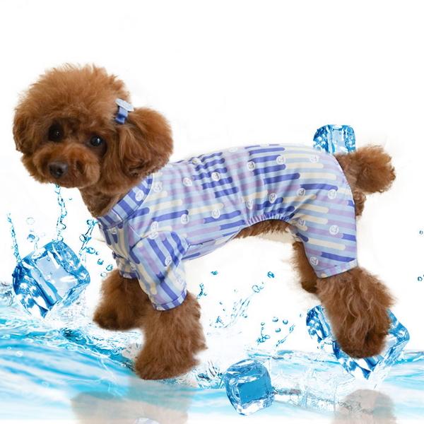 항균가공 특수 원단 제작 야생동물 바이러스 예방 강아지옷 톤온톤 올인원