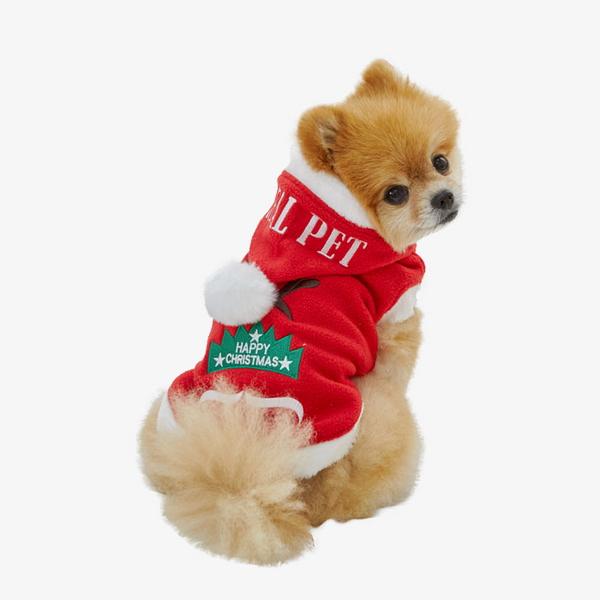리얼펫 루돌프사슴코 강아지 산타옷 애견 크리스마스 의류