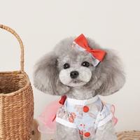위드토리 강아지 생활한복 (핑크)