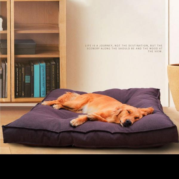 레오펫 강아지 애견침대 대형견 커버 분리 방석