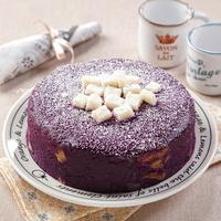 힐링펫 수제케익 자색고구마 케이크