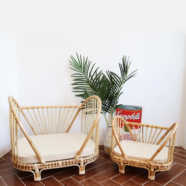 에덴숑-Rattan sofa bed(라탄소파베드)
