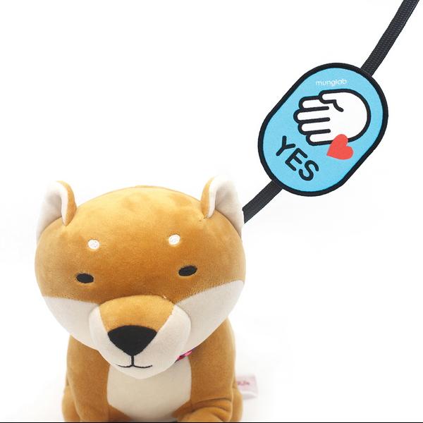 멍랩_옐로와펜 YES 강아지 인식표