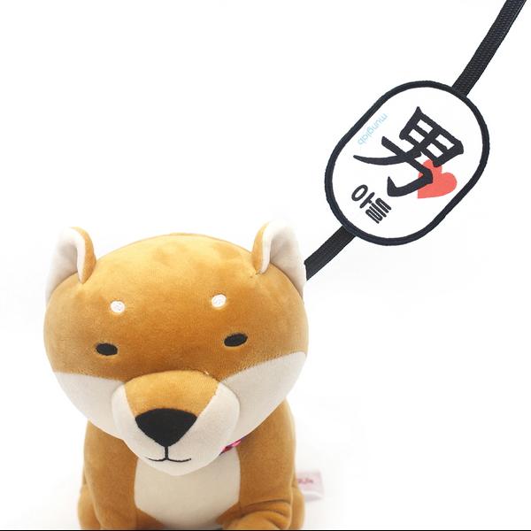 멍랩_옐로와펜 아들_딸 강아지 인식표