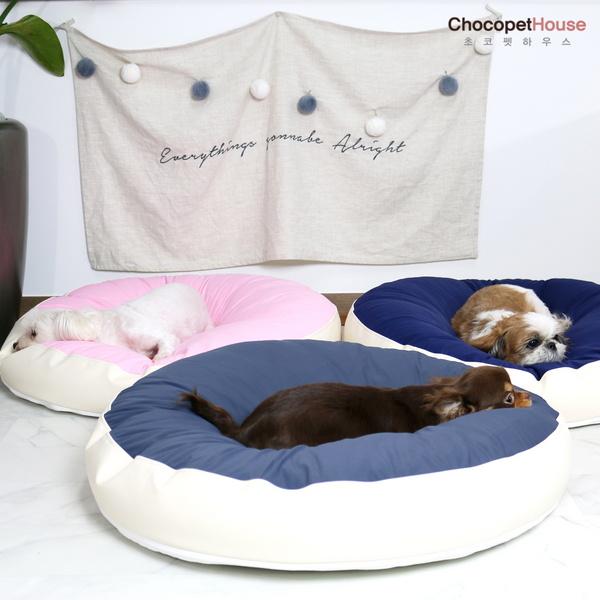 극강의편안함 강아지 무중력 우주방석 프리미엄 사이즈 진드기완벽차단 애견 쿠션 침대