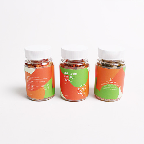 제주 유기농 야채 믹스 샐러드 15g