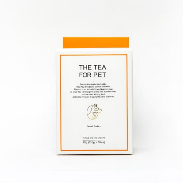 꼬멜 THE TEA FOR PET 주황