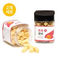 뽀시래기 산양유 촉촉큐브 고구마트릿 180g (2개세트)