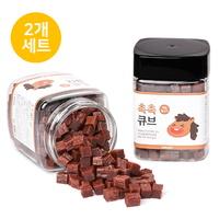 뽀시래기 국내산 촉촉큐브 말고기트릿 180g (2개세트)