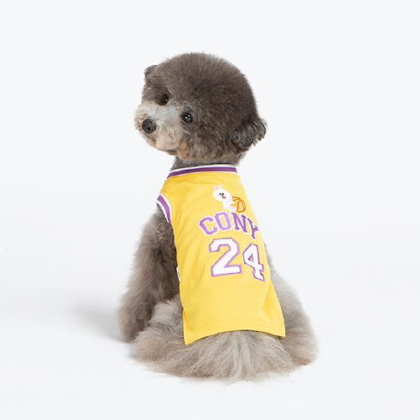 [라인프렌즈] 코니 스포티 농구 민소매 티셔츠