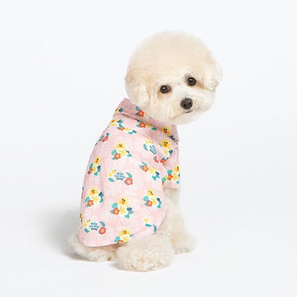 [라인프렌즈] 샐리 하와이안 셔츠