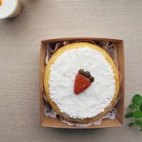 수제 당근 케이크 간식